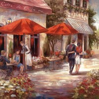 Cafe Afternoon I Fine-Art Print