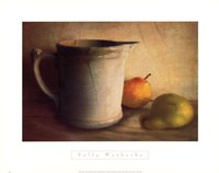 PEARS AND PITCHER Fine-Art Print