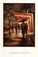 Second Street Drizzle Fine-Art Print
