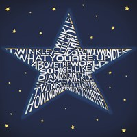 Twinkle, Twinkle Little Star Fine-Art Print