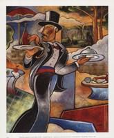 Pointilist's Dejeuner Fine-Art Print