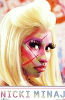 Nicki Minaj - Face Paint Fine-Art Print