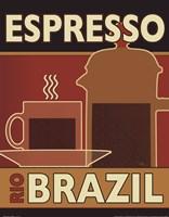 Deco Coffee I Fine-Art Print