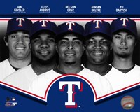 Texas Rangers 2013 Team Composite Fine-Art Print