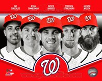 Washington Nationals 2013 Team Composite Fine-Art Print