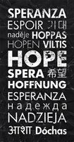 Hope in Different Languages Fine-Art Print