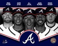 Atlanta Braves 2013 Team Composite Fine-Art Print