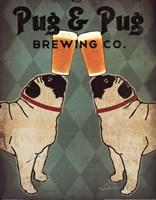 Pug and Pug Brewing Fine-Art Print