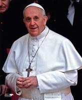 Pope Francis I, Cardinal Jorge Mario Bergoglio  in Rome, March 14, 2013 Fine-Art Print