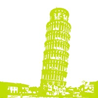 Pisa in Lime Fine-Art Print