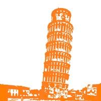 Pisa in Orange Fine-Art Print