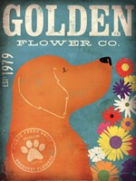 Golden Flower Co. Fine-Art Print