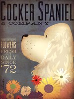 Cocker Spaniel & Co. Fine-Art Print