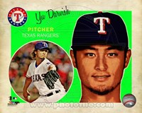 Yu Darvish 2013 Studio Plus Fine-Art Print