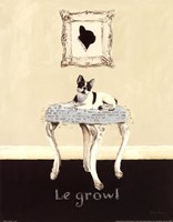 Le Growl Fine-Art Print