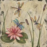 Dancing Dragonflies II Fine-Art Print