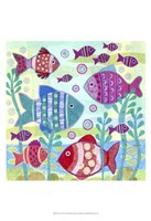 Ocean Fish I Fine-Art Print