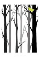 Forest Silhouette II Fine-Art Print