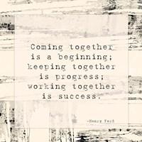 Coming Together Fine-Art Print