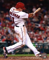 Ryan Zimmerman 2013 batting action Fine-Art Print