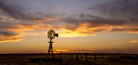 Plains Windmill Fine-Art Print