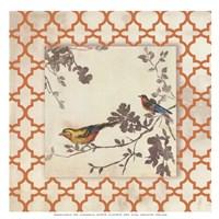Audubon Tile IV - Mini Fine-Art Print