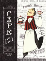 Cafe Waiter Fine-Art Print