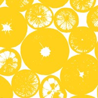 Yellow Lemon Slices Fine-Art Print
