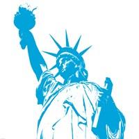 Liberty in Blue Fine-Art Print