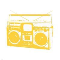Yellow Boom Box Fine-Art Print