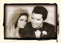 Elvis Presley Weds, 1967 Fine-Art Print