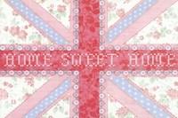Union Jack, Home Sweet Home Fine-Art Print