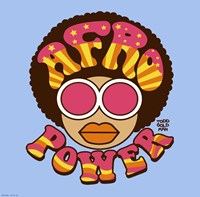 Afro Power Fine-Art Print