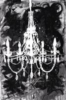 Chandelier Black and White Fine-Art Print