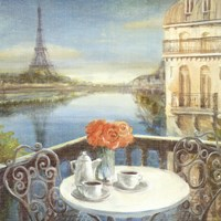 Morning on the Seine Crop Fine-Art Print