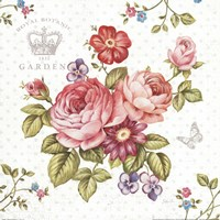 Elegant Roses I Fine-Art Print