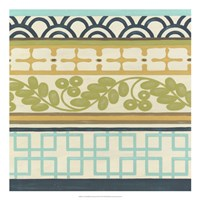 Non-Embellished Geometric Frieze II Fine-Art Print