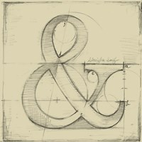 Drafting Symbols II Fine-Art Print