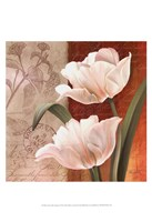 French Tulip Collage I Fine-Art Print