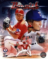 Yu Darvish 2013 Portrait Plus Fine-Art Print