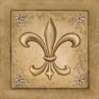 Fleur de Lis - Gold Fine-Art Print