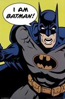 Batman - I Am Batman Wall Poster