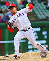 Derek Holland 2013 Action Fine-Art Print