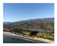 Aerial view Santa Barbara, California Fine-Art Print