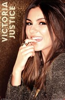 Victoria Justice - Gold Wall Poster