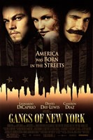 Gangs of New York - characters Wall Poster