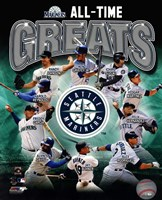 Seattle Mariners All Time Greats Composite Fine-Art Print