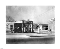 Harlow's Service Station, Anaheim 1930 Fine-Art Print