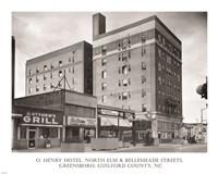 O. Henry Hotel, Greensboro, Guilford County, NC Fine-Art Print