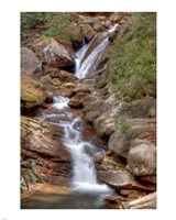 Skinny Dip Falls in Western North Carolina Fine-Art Print
